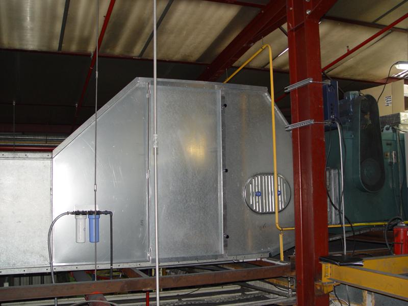 humidification d 39 une cabine de peinture ventsys. Black Bedroom Furniture Sets. Home Design Ideas