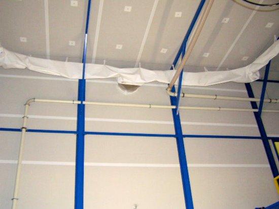 Diffusione tramite condotto di ventilazione tessile